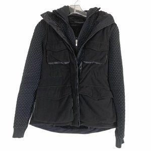 Lululemon Cargo Black Hoodie Jacket XS S